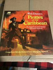 "Vintage 1968 Disney "" Pirates of the Caribbean "" Record #3937 Disneyland Vg+"