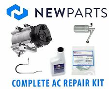 Ford Mustang 1999-2001 V8 4.6L Complete A/C Repair Kit OEM Compressor & Clutch
