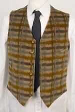 Boglioli Milano NWT Multi Color Abstract Print Cotton Blend Vest 48 IT 38 US S