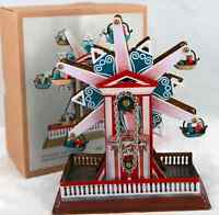 WIND-UP STAR  FERRIS WHEEL CHRISTMAS GIFT CLASSIC COLLECTABLE TIN TOY