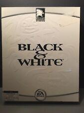 Black & White Lionhead Studios EA Games 2001 PC Strategy Game Big Box Complete