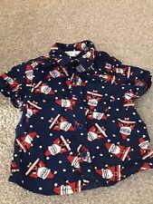 Baby Boy Christmas Shirt 0-3 Months