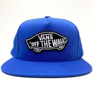 VANS CLASSIC PATCH BLUE SNAPBACK  CAP
