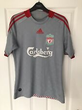 Liverpool Away football shirt 2008/09 Adidas Small England Soccer Jersey Vintage