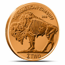 Zombucks: Currency of the Apocalypse ZomBuff 1 oz .999 Copper