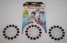 Vintage GAF VIEW MASTER 3 Reel Set-The Water Babies-Kids Cartoon 1979