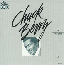 💿X3! RARE! CHUCK BERRY-THE CHESS BOX! COMPLETE 3CD/BOOK/'MOSAIC SIZE' BOX SET!