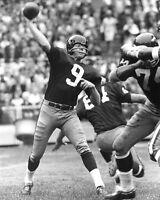 1968 Washington Redskins SONNY JURGENSEN Glossy 8x10 Photo NFL Football Print