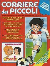 [AD10] CORRIERE DEI PICCOLI ANNO 1988 NUMERO 49 RUDY PALLA AL CENTRO