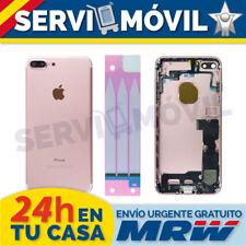 Chasis Trasero + Flex Botones para Iphone 7 Plus Oro Rosa Carcasa Piezas Cable