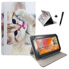 Aldi Medion Lifetab P8912 MD 99066 Tablet Pc Tasche Hülle - Katze Motiv 8,9 Zoll