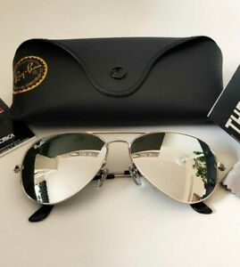 Ray-Ban Aviator large Metal II RB3026-62/W277 Flash Mirror - Größe 62mm *Unisex*
