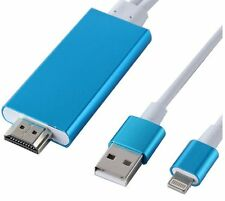 AirPlay to HDMI HDTV AV Cable Adapter for Apple iPad Air Pro iPhone 6 6s 7 Plus