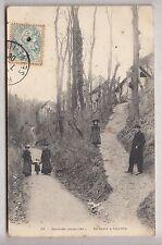 CPA BAPEAUME BAPAUME 76 -  LA SENTE A PHILIPPE PROMENADE DES HABITANTS 1906 ~B53