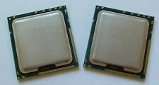 Matched Pair of Two (2) Intel Xeon X5650 6-Core 2.66GHz SLBV3 CPU Processors