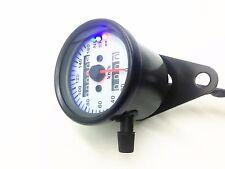 12V LED Backlight Signal Motorcycle Odometer KMH Speedometer Gauge Cafe Racer VT