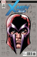 X-Men Blue 13 Mike McKone Magneto Headshot Variant Legacy Nm