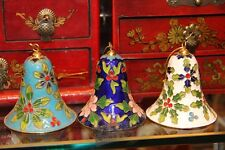 Beijing Vintag Cloisonne Wind Chime Bell A Must For Homes or Parties or Holidays