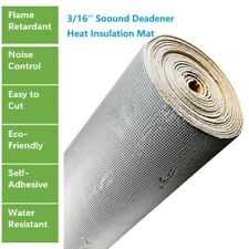 Sound Deadener & Thermal Barrier Heat Shield Insulation With Adhesive 20''x39''