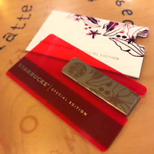 SPECIAL EDITION Starbucks Malaysia Metal Card 2018 with Matching Sleeve