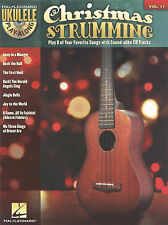 Ukulele Play Along Vol 11 Christmas Strumming Sheet Music Song Book w CD
