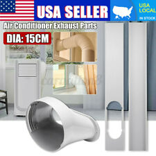 2x Window Slide Kit Plate + 15cm 6'' Window Adaptor For Portable Air  USA