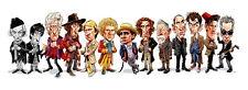 Tom Richmond Mad SIGNED Doctor Who BBC Art Print David Tennant Matt Smith Baker