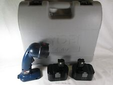 Ryobi Drill Case + 2 Batteries 1400671 +  Flashlight FL1400