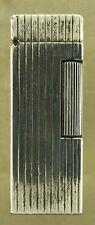 Dunhill Rollalite Cigarette Lighter Sterling Silver