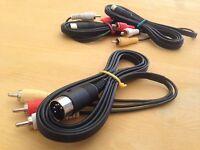 Cavo AV Audio-Video Commodore 64 C64C SX64 VIC20 PLUS4 C128 C16 C116 5DIN Univ.