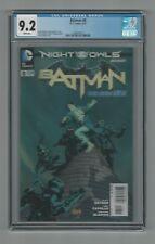 Batman #8 CGC 9.2 NM- DC Comics New 52 Greg Capullo Cover 6/12 Night of the Owls