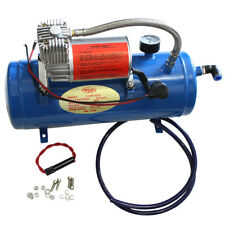 Air Compressor With 6 Liters Tank For Train Horns Motorhome Tires 150 PSI DC 12V
