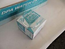 assortimento 24 vetri plexi plastica da 23 a 27,6 mm orologi watch crystal dome