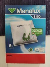 Menalux 3100 Vacuum cleaner 5x dustbags 9001961508