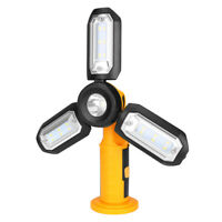 Super Bright LED Work Light Outdoor Camping Emergency Lamp Flashlight Foldable