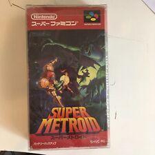 Super Metroid - Super Famicom Nintendo - Japan JPN - Retro SNES And Protector