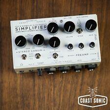 DSM Humbolt Simplifier Zero Watt Stereo Amplifier and Cab Sim