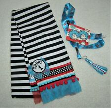 Dr Seuss THING 1 & 2 SCARF with LANYARD   BRAND NEW