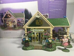 Dept 56 Snow Village Collection - Lily's Nursery & Gifts #55095 - READ DESCRIPT.