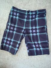 Zoo York Men's 32 Shorts, Plaid, Light Weight.