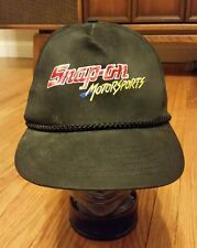Snap On Rope Hat snap back trucker Motorsports racing hunting hat cap Vtg 80s 90