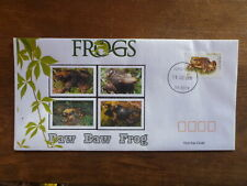 2018 FROGS BAW BAW FROG ILLUSTRATED FDC FIRST DAY COVER