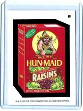 TOPPS 2020 Wacky Packages WEEKLY SERIES **RED LUDLOW BACK NO.18 HUN-MAID