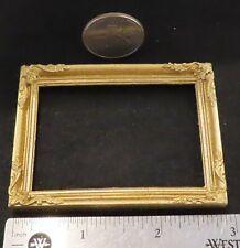 Frame Set of 2 Frames Gold Gilded Art Painting 1:12 Dollhouse Miniature #A2999GD