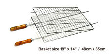 Brazilian Grilling Basket for BBQ - Professional Grade