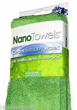 4 Nano Towels New Fabric Technology Cleans with Only Water Safe Economical GREEN