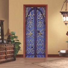 Vintage 3d Door Sticker Self Adhesive DIY Wall Mural Decal Home Livingroom Decor