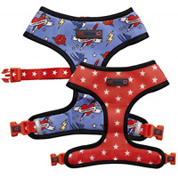 Love Frenchie - French Bulldog Reversible Harness Sailor Jerry, Large