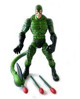 Scorpion Vintage Toybiz Spiderman Classics Marvel Legends Figure w Missiles 2004
