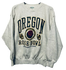 Vintage 1995 Oregon Ducks Rose Bowl Championship XL Crewneck Sweatshirt NCAA NEW